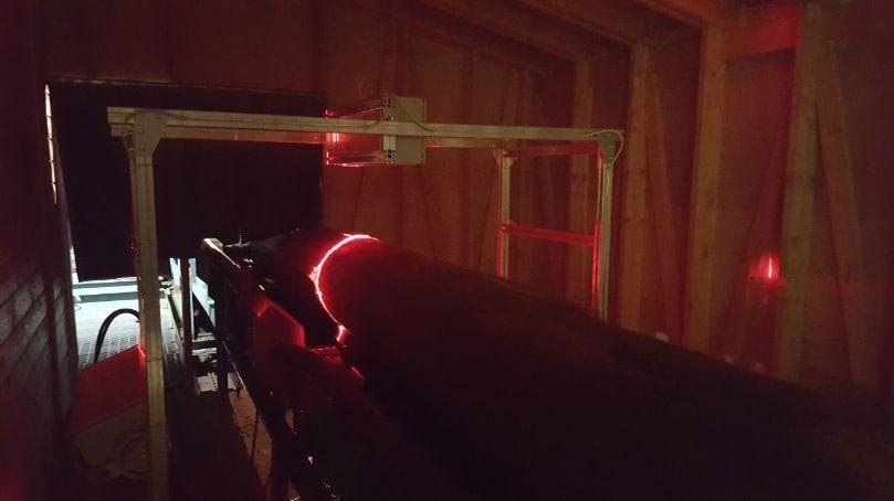 АСУ сортировки бревен с 3D-сканером
